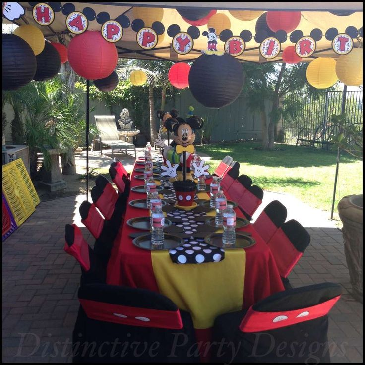 Mickey Mouse Birthday Party Ideas | Photo 3 of 24