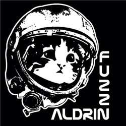 """Fuzz Aldrin:  First kitty to visit space. His intergalactic adventures are famous among the kitties. Sport this astronaut cat to show your love for the fuzz. Fuzz Aldrin was seen on the Daily Show, worn by Jackson Galaxy (""""Cat Daddy"""")."""