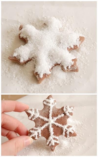 Småkager - snefnug