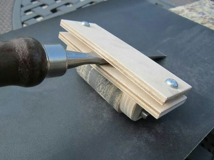 stanley chisel sharpening kit instructions