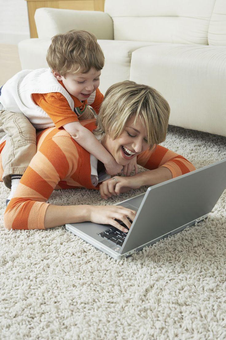 Нелегко быть мамой и писателем