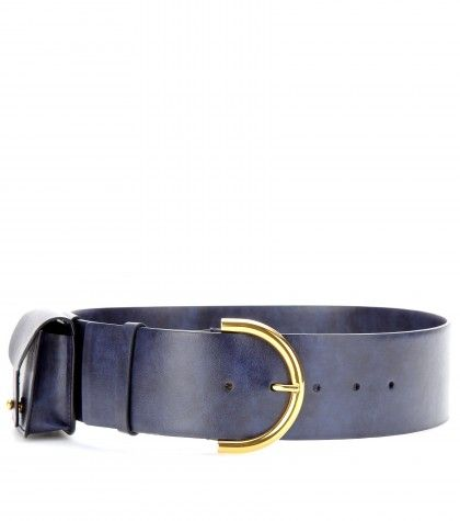 #StellaMcCartney - Faux leather waist belt