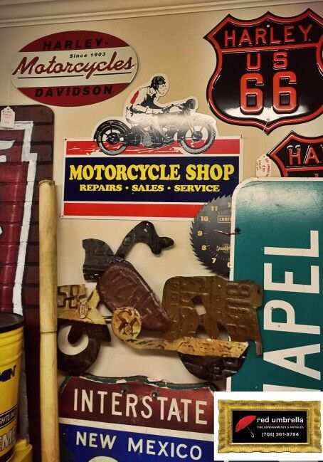 Harley Signs and more