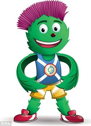 Clyde - The Official Mascot of the XX Commonwealth Games