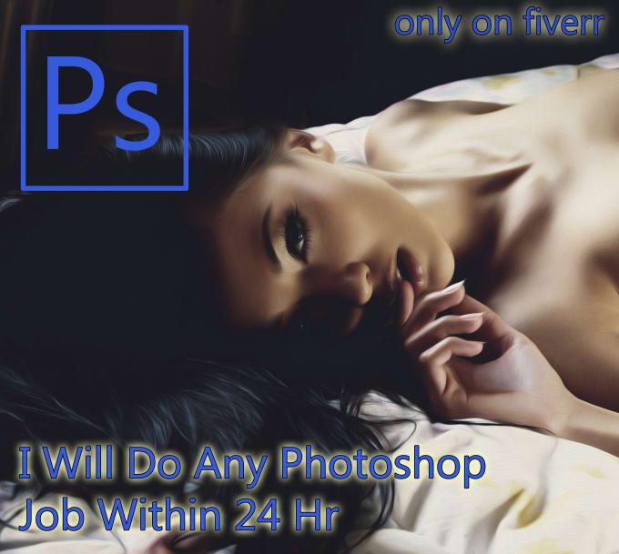 For only $5, knapp900 will do Any Photoshop Job Within 24 Hr. | описание услугТворческая манипуляция фотоПрофессиональный портрет ретушьЛицо: Создание идеального вида кожи, мешки под глаза, на морщинах удалить лицоТело: похудение, снижение веса, изменения формы, увеличение груди (для | On Fiverr.com