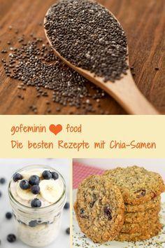 Habt ihr schon das Superfood Chia-Samen probiert? Hier gibt's leckere Chia-Samen-Rezepte: http://www.gofeminin.de/kochen-backen/chia-samen-rezepte-s1471197.html #chia-samen