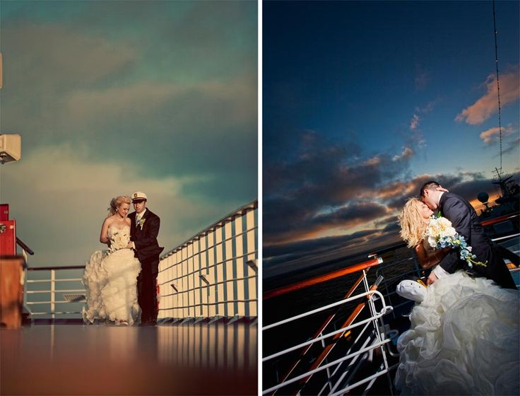 Cruise wedding. Really think about doing this!