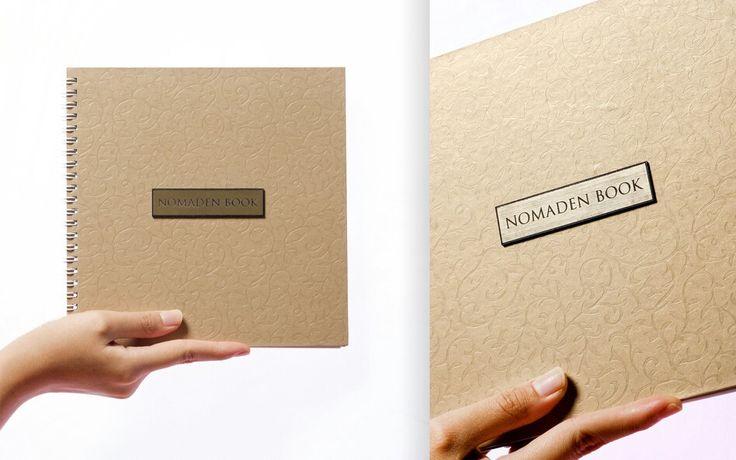 Initiative Sample book from Nomaden experimental Artworks, Yogyakarta, Indonesia.
