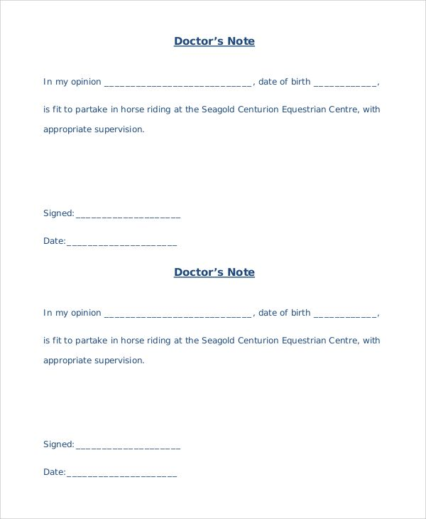 Sample Medical Letter From Doctor To Employer Template Medical