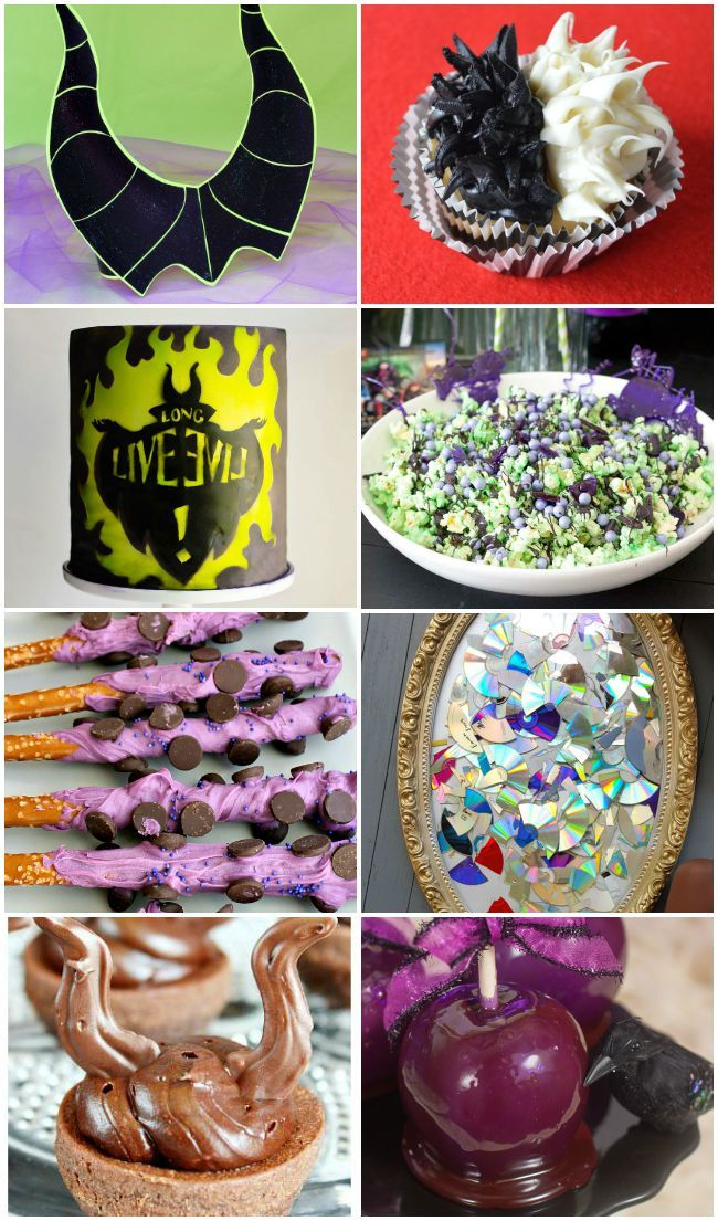 How To Plan A Disney Descendants Party Food Craft