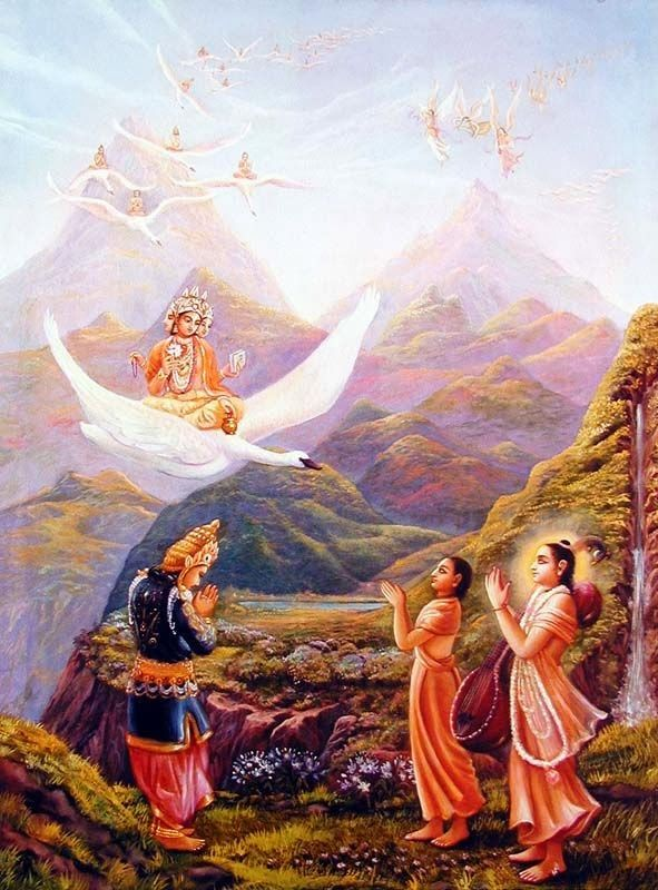 HiNDU GOD: Brahma - The Creator
