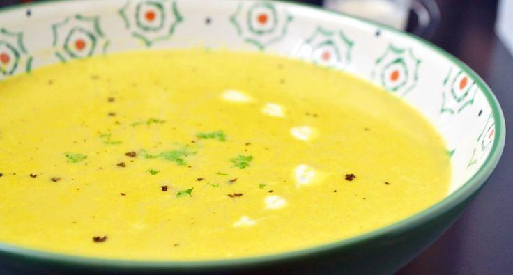 Indiai vöröslencse krémleves recept