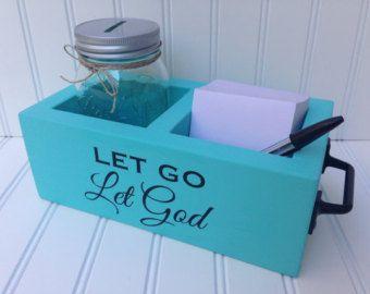 Prayer Box God Box Surrender Jar Prayer Jar.  12 step tool.
