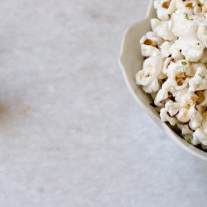 Chile Lime Tequila Popcorn. Just the thing to go with a cold Corona ...