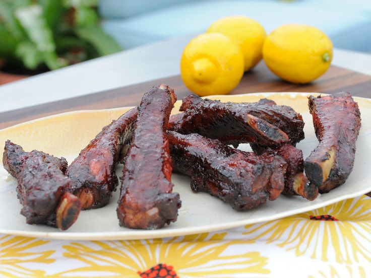 This for tofu or seitan...yum...Takeout-Style Chinese Spare Ribs recipe from Jeff Mauro via Food Network