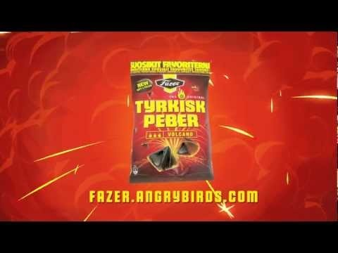 Tyrkisk Peber Volcano - soft  hot! Special sweet by Angry birds.