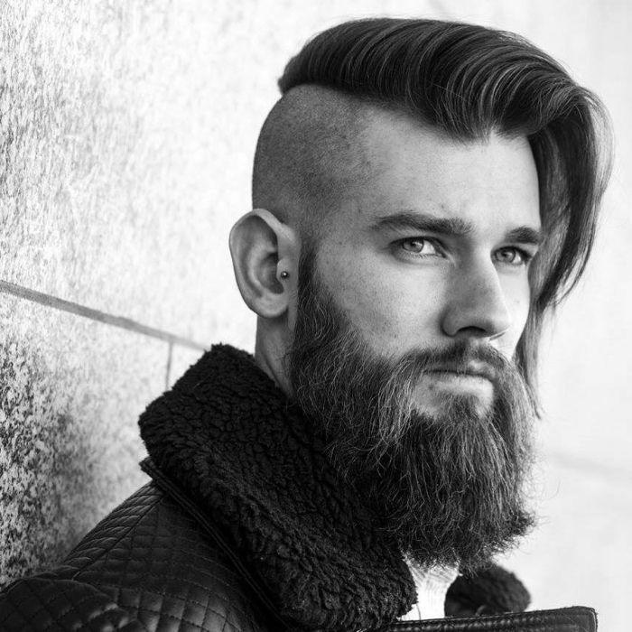 25+ Cortes hipster con barba ideas