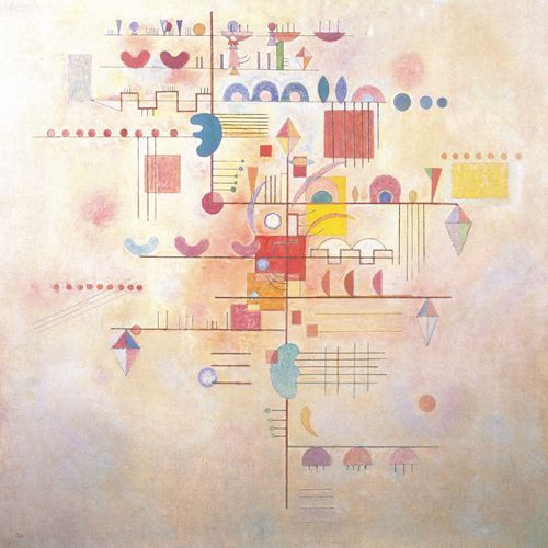 Montée Gracieuse - 1934 - Kandinsky Vassili - Opere d'Arte su Tela - Listino prodotti - Digitalpix - Canvas - Art - Artist - Painting