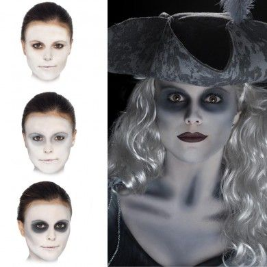 Ghost Make Up - Halloween Fancy Dress and Party