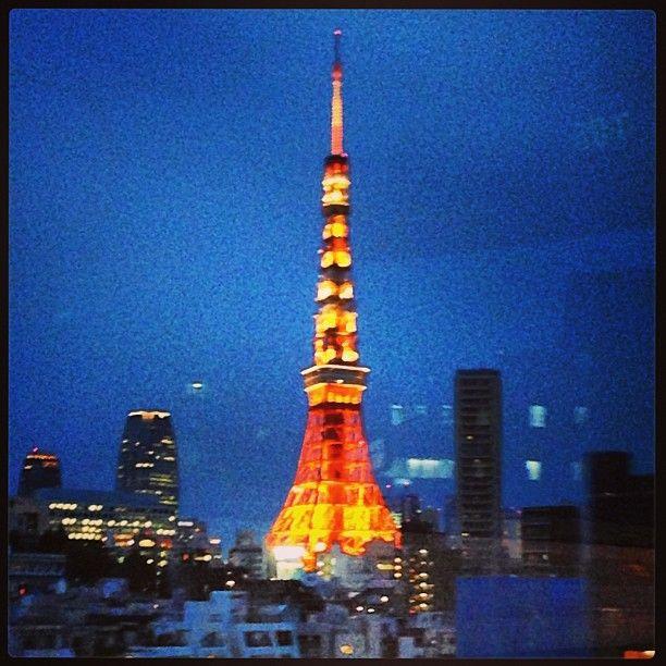 東京タワー (Tokyo Tower) itt: 港区, 東京都