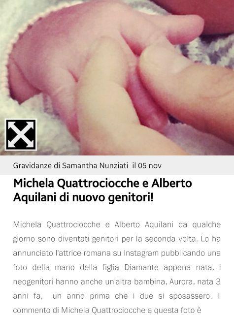 SiGiGossip: Michela Quattrociocche e Alberto Aquilani
