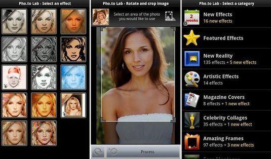Pho.to Lab, una app Android gratuita con más de 450 efectos para retocar tus fotos