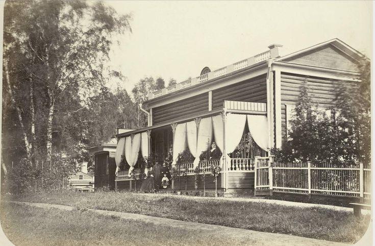 Иосиф Гофферт - 1862 -  Сельская местность вдоль Николаевской дороги между Химками и Клином