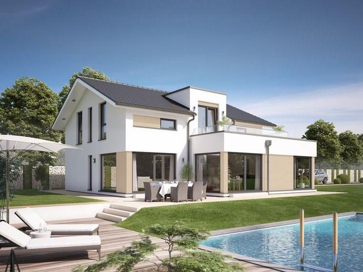 unser fantastic 163 v4 haus fertighaus hausbau design. Black Bedroom Furniture Sets. Home Design Ideas