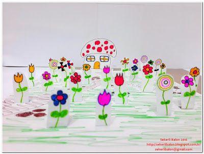 Şekerli Balon: Harika çiçekler