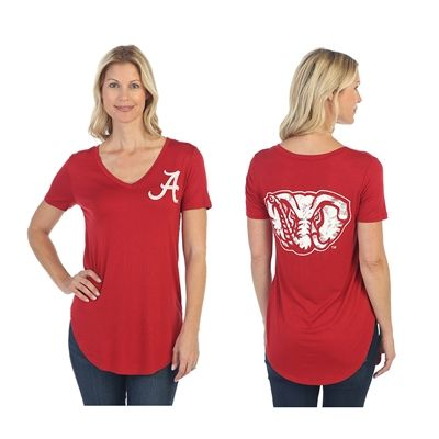 Alabama Crimson Tide Red Elephant Tee