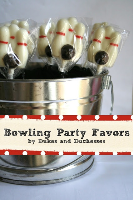 Bowling Party Favors