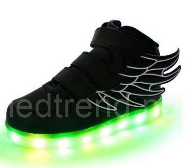 SvarteLED-barnesko Dragonfly light   LED barnesko - LED-skoene finner du i nettbutikken ledtrend.no. Prisene på ledskoene varer varierer fra 599-, og oppover, GRATIS frakt på alle varer. Vi har mange forskjellige LED-sko, ta en titt da vel? på: www.ledtrend.no