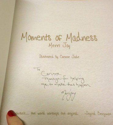 Thank You - From Author Merri Joy