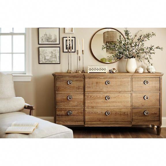 Regents Park Dresser And Mirror Oak Value City Furniture And