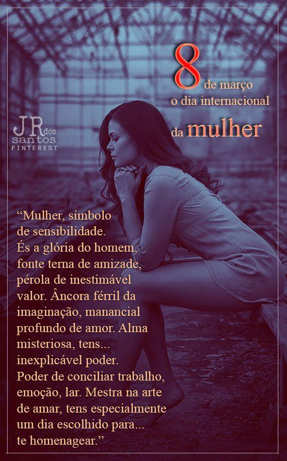 Mulher Símbolo De Sensibilidade és A Glória Do Homem Fonte Terna