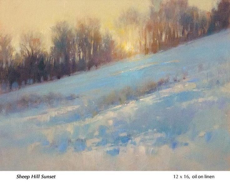Landscape Oil Paintings Signed I Caf