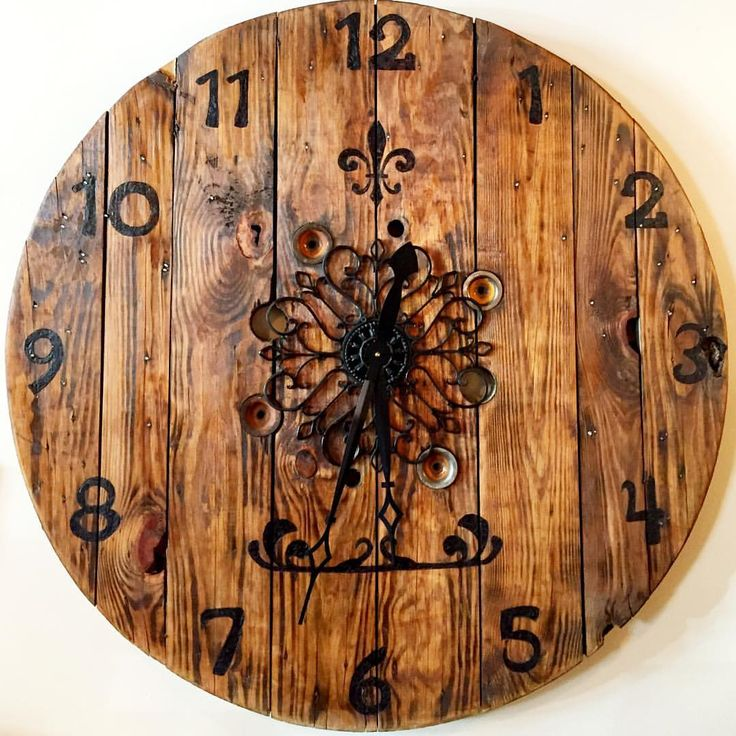 What time is it? It's football time!!!! What a busy weekend of football watching in Seattle with the Huskies playing right now and the Seahawks playing tomorrow. Add some vintage flair to your TV room, den or man cave with this handsome large wooden clock and always know when it's game time. #footballwatching #gametime #classymancave #seattlesports #uwhuskies #seahawks #vintagestyle #seattle #graciousseattle