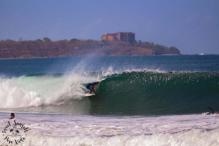 Surf Playa Grande, Costa Rica.
