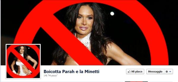 Nicole Minetti Parah: le donne italiane si ribellano su Facebook