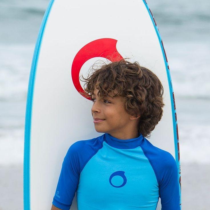 UV-szűrős gyerek felső, kék (UV 100)