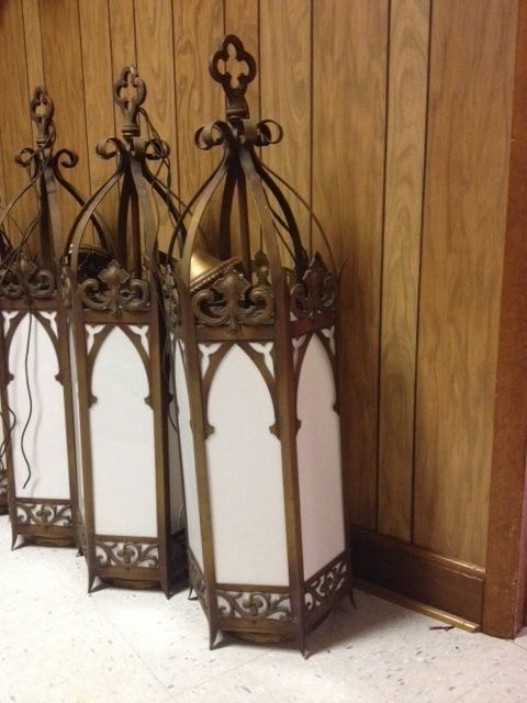 Gothic Style Pendant Lights Vintage Church Lighting