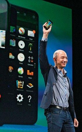 Celular da Amazon transforma o mundo numa vitrine (Foto: Mike Kane/Bloomberg via Getty Image) - http://epoca.globo.com/vida/vida-util/tecnologia/noticia/2014/08/bcelular-da-amazonb-transforma-o-mundo-numa-vitrine.html