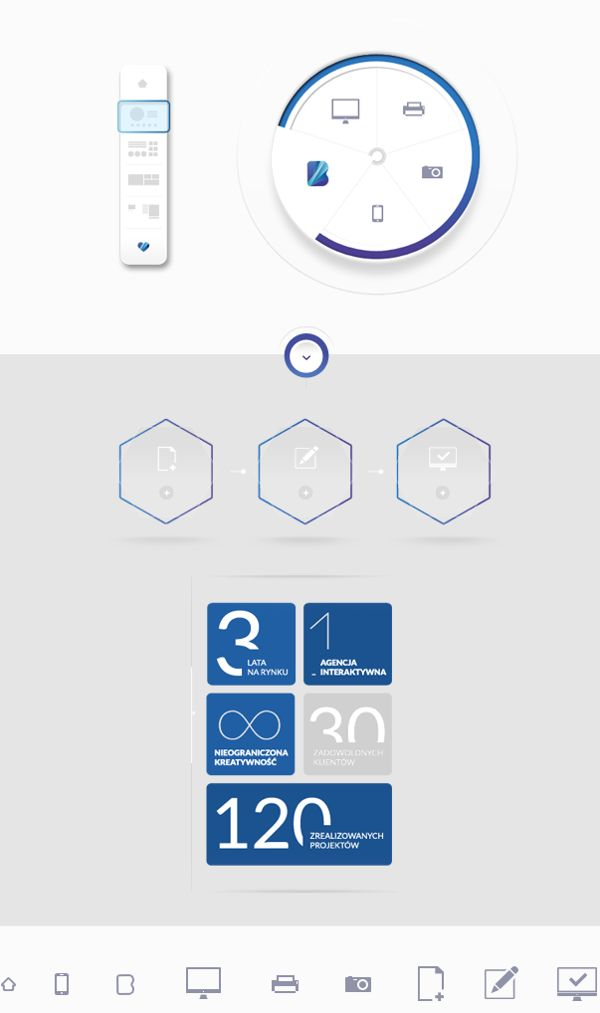 Beliveo - interactive agency on Behance