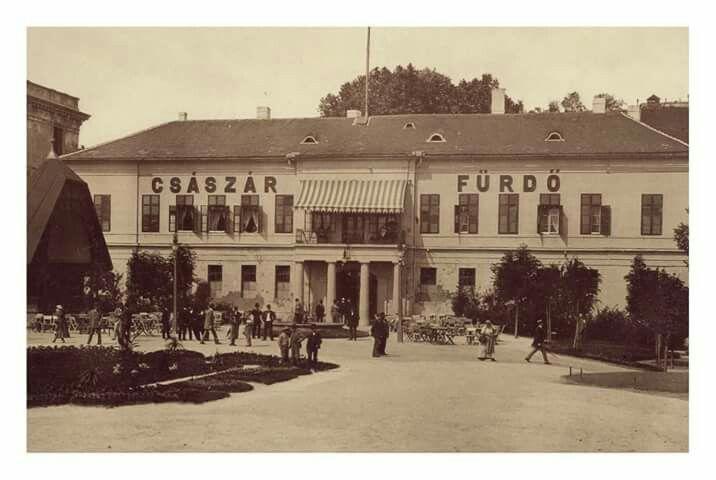 1897. Császár fürdő.