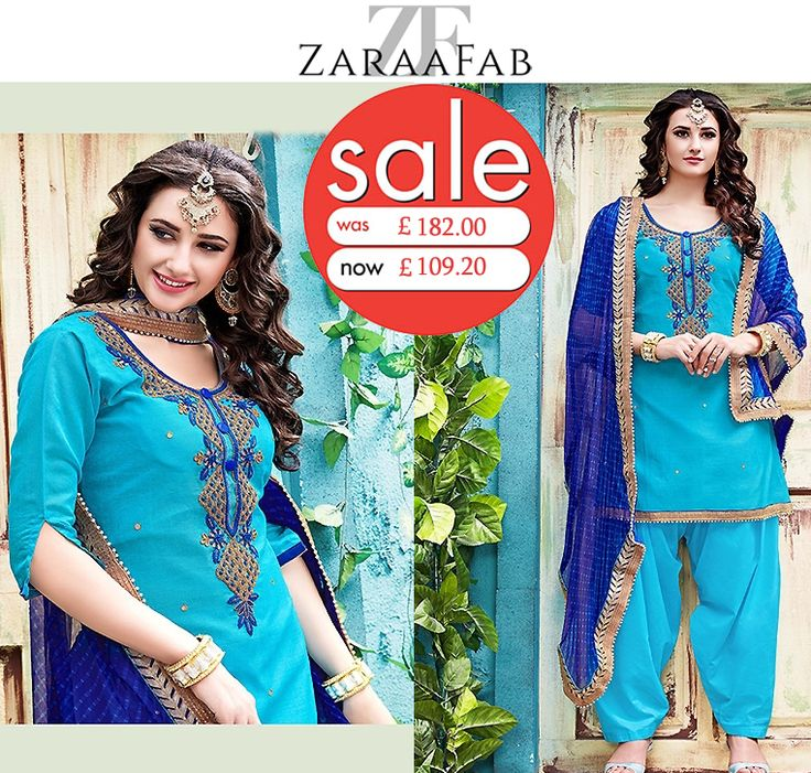Buy patiala salwar kameez dresses online at low prices in UK from ZaraaFab. We have wide varieties of patiala salwar suits with beautiful designs. Best discounts and Great deals on all the patiala suits.  #PatialaSalwar #punjabisuits #salwarkameez #salwarsuit #patialasuituk