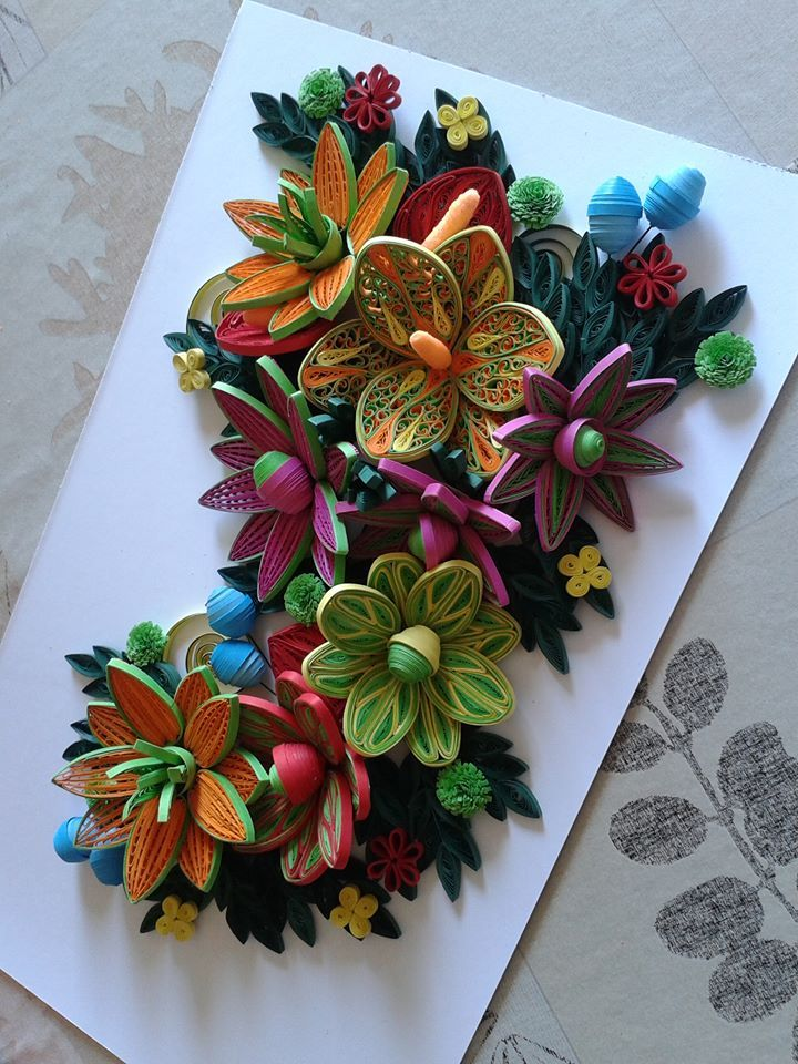 By: https://www.facebook.com/bmiletic.quilling?fref=photo