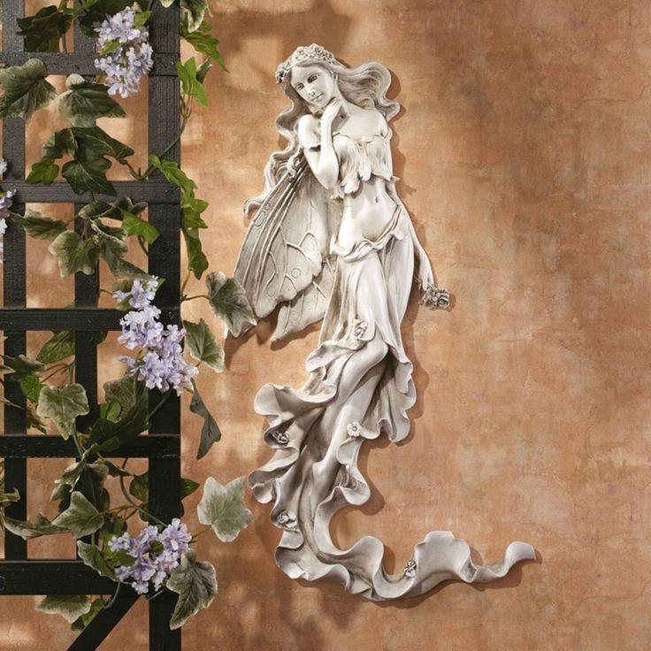 Design Toscano Brianna the Summer Breeze Fairy Wall Sculpture - EU5604