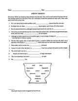 13 best johnny tremain activities images on pinterest american vocabulary worksheet grade levels 4 8 fandeluxe Gallery