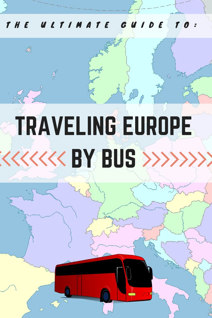 Forget your EuroRail pass, travel by bus! Read on to discover the hacks of the cheapest way to get around Europe!