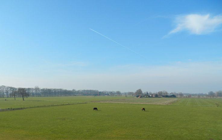 panoramic landscape, Hoevelaken, Holland